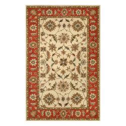 nuLOOM - nuLOOM Hand-tufted Wool Beige Rug, Beige, (6' X 9') - Material: 100% Wool