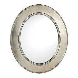 Serena & Lily - Sullivan Mirror - Yes, brass may be all the rage, but I like the weathered look of this mirror. It's great for a boys' or girls' room.
