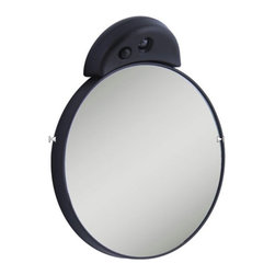 Zadro Products - Zadro LED Lighted Spot Mirror - FC15L - Shop for Bathroom Mirrors from Hayneedle.com! Mounted on a single suction cup the Zadro LED Lighted Spot Mirror can give you a clear magnified reflection at home or on the road. This convenient mirror can magnify its reflection up to 15X and is clearly lighted with the help of bright energy-efficient LEDs.About Zadro ProductsZadro Products has been a leading innovator in bath accessories mirrors cosmetic accessories and health products for over 25 years. Among the company's innovations are the first fogless mirror first variable magnification mirror first surround light mirror and more. Not a company to rest on its laurels Zadro continues to adapt to the ever-changing needs of modern life.