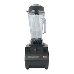 VitaMix - Vita-Mix 1002 Vita-Prep 64-oz Blending Station - 64 ounce on counter blending station Blender features a clear container Vita-Mix blender has a variable speed with a 2 Hp motor