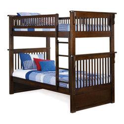 Atlantic Furniture - Colorado Bunk Bed - ATL-COLORADO - Solid hardwood motrise and tenon construction