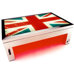 eclectic coffee tables by SUCK UK