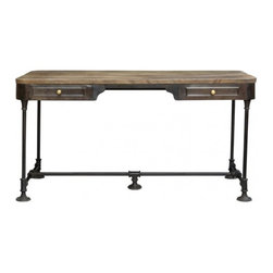 The Post Dining Table - CDI. 58w x 28d x 30h. Available for order at Warehouse 74.