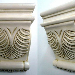 O'Neil Cabinets' Corbels - O'Neil Classic corbel with big cider acanthus design.