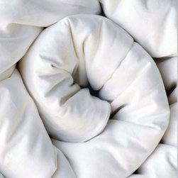 Silk Duvet - Covered in cool cotton sateen and filled with natural mulberry silk, this comforter makes you feel like you are sleeping on a cloud.