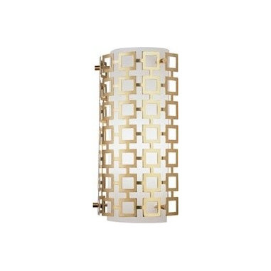 Parker Half Round Sconce by Robert Abbey - I love vintage throwback fixtures, especially when they don't try too hard and are fun and humorous. I may be way off, but this says stylish 70's Miami apartment to me. I'm seriously considering these for my powder room.