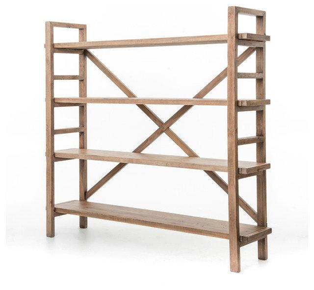 Rustic Bookcases by Masins Furniture