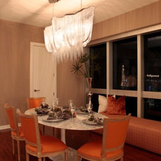 Contemporary Dining Room by InsideStyle Home and Design