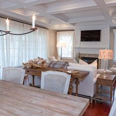 Eclectic Living Room by CANDICE ADLER DESIGN LLC
