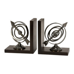 IMAX CORPORATION - Calisto Armillary Bookends - Armillary Bookends. Find home furnishings, decor, and accessories from Posh Urban Furnishings. Beautiful, stylish furniture and decor that will brighten your home instantly. Shop modern, traditional, vintage, and world designs.