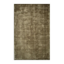 Uttermost - Uttermost Danuvius 8 x 10 Rug - Olive Green 73060-8 - Hand Woven Viscose In Shades Of Olive Green With Heavy Striations.