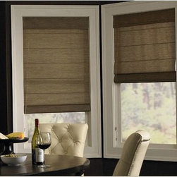 Roman Blind-Valance-  3 Day Blinds - Roman Blinds are actually called Roman Shades because they operate as a shade. Roman Shades are unique becuase when raised they create a beautiful valance and allow you to enjoy your view.