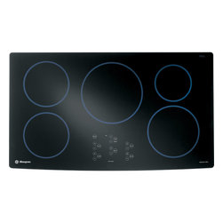 """GE Monogram - GE Monogram® 36"""" Induction Cooktop - The appeal of Monogram appliances is unmistakable and powerful. This is especially true of Monogram induction cooktops, which use electromagnetic energy to transform cookware into an instant source of heat."""