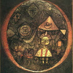 "Paul Klee Fairy Tale of the Dwarf - 16"" x 20"" Premium Archival Print - 16"" x 20"" Paul Klee Fairy Tale of the Dwarf premium archival print reproduced to meet museum quality standards. Our museum quality archival prints are produced using high-precision print technology for a more accurate reproduction printed on high quality, heavyweight matte presentation paper with fade-resistant, archival inks. Our progressive business model allows us to offer works of art to you at the best wholesale pricing, significantly less than art gallery prices, affordable to all. This line of artwork is produced with extra white border space (if you choose to have it framed, for your framer to work with to frame properly or utilize a larger mat and/or frame).  We present a comprehensive collection of exceptional art reproductions byPaul Klee."