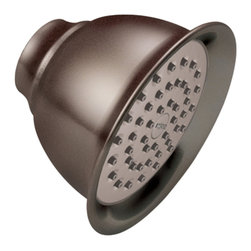 """Moen - Moen 6302ORB Moen Single-Function 4-3/8"""" Diameter Showerhead - From finishes that are guaranteed to last a lifetime, to faucets that balance your water pressure perfectly, the Moen series sets the standard for exceptional beauty and reliable, innovative design."""