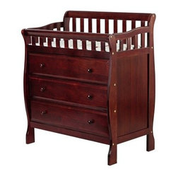 Dream On Me Marcus Changing Table and Dresser - Cherry