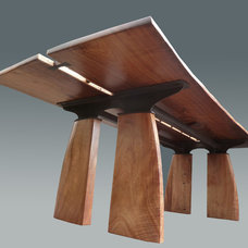 Contemporary Dining Tables by Tai Lake Fine Woodworking