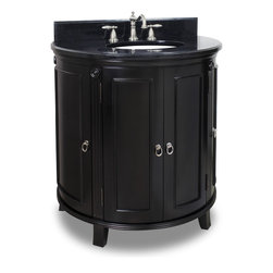 Hardware Resources - VAN056-T Jeffrey Alexander Vanity with Preassembled Top and Bowl in Espresso - Jeffrey Alexander Vanity with Preassembled Top and Bowl by Hardware Resources