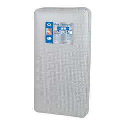 Sealy - Sealy Baby Posturepedic Crib Mattress - Welcome your newborn to a world of comfort with this baby Posturepedic crib mattress. The Posturetech coil system offers superior support,while a gentle layer keeps your little one comfortable. Fire-retardant,this mattress offers you peace of mind.