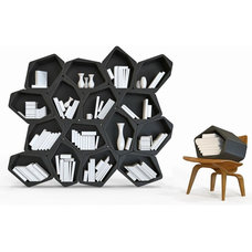 Contemporary Bookcases by Archimodal