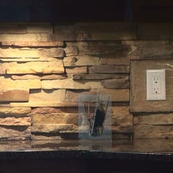 backsplash insulstone stone veneer peel stick mortarless