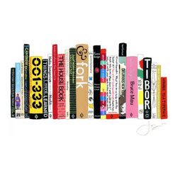 Ideal Bookshelf - Have a custom painting made of your ideal bookshelf.