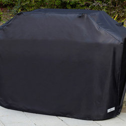 Sure Fit - 65-inch Premium Wide Grill Cover - Keep your gas grill like new and protect it from wind,rain,and snow with this high quality black polyester coated grill cover. It is closed and kept in place by durable and strong Velcro. The 65' x 30' x 45' cover is machine washable.