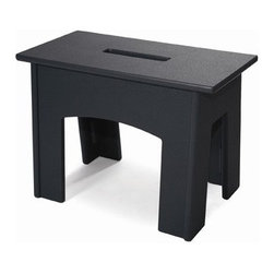 "Loll Designs - Handy Stool - Features: -Use it as a side table, small bench, ottoman, footstool or whatever else you can think of where you need a hand. -All fasteners are visibly hidden. -Perfect for small spaces. -Assembly required. -Dimensions: 14"" H x 20"" W x 10"" - 11.75"" D."