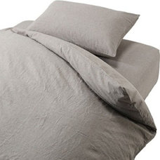 Traditional Duvet Covers by MUJI USA