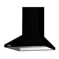 """Viking 3 Series 36"""" Chimney Wall Hood, Black 