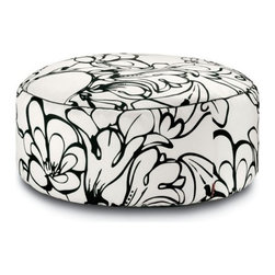 Missoni Home - Missoni Home | Pretoria Outdoor Pouf, Black/White - Design by Rosita Missoni.