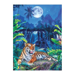Masterpieces - Masterpieces Glitter Eyes of the Tiger Puzzle Multicolor - 31237 - Shop for Puzzles from Hayneedle.com! About Masterpieces Puzzles & GamesFor the past 17+ years Masterpieces has delighted kids and parents. From art kits to puzzles of all levels Masterpieces ensures playtime activities that develop cognition as much as they foster fun. All Masterpiece items are tested for safety and this company is definitely eco-minded: All of their puzzles are manufactured using board with 100% recycled post-consumer materials their puzzle sheets wraps and catalogs are printed with soy-based inks and even included storage bags are biodegradable. Quality mindful products are what you can expect from Masterpieces.