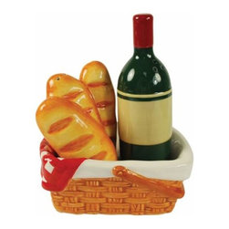 WL - 5 Inch Sunday Picnic Baskets Figurines Salt and Pepper Shakers - This gorgeous 5 Inch Sunday Picnic Baskets Figurines Salt and Pepper Shakers has the finest details and highest quality you will find anywhere! 5 Inch Sunday Picnic Baskets Figurines Salt and Pepper Shakers is truly remarkable.