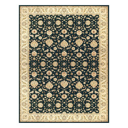 """Loloi Rugs - Loloi Rugs Stanley Collection - Charcoal / Beige, 9'-8"""" x 12'-8"""" - The magnificent Stanley Collection features modern interpretations of the most sophisticated hand knotted designs. Recreated in Egypt with power loomed technology these gorgeous polypropylene area rugs offer an affordable alternative."""