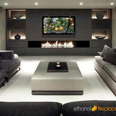 Indoor Fireplaces by Ethanol Fireplaces