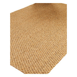 """Natural Area Rugs - """"Stateroom"""" Sisal Rug, 100% Natural Fiber - All natural sisal rug handcrafted by Artisan rug maker. Naturally durable and anti-static, this earth friendly rug is great for high traffic areas. Enjoy this self bound sisal rug with non-slip latex backing along with its stylish and contemporary look. Variations are part of the natural beauty of natural fiber. We recommend a rug pad as it will protect not only your rug but your hardwood floor as well."""