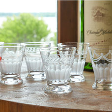 Traditional Everyday Glassware by Wisteria
