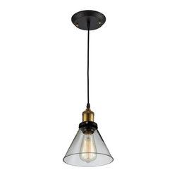 Ohr Lighting® - Ohr Lighting® Edison Vintage Pendant Light Fixture, Clear/Antique Brass - Features