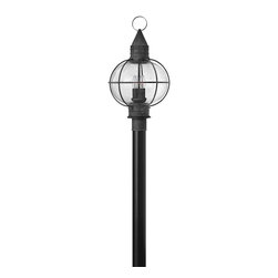 Hinkley Lighting - Hinkley Lighting 2201DZ Cape Cod 4-Light Post Lights & Accessories in Aged Zinc - This 4 light Outdoor Post Lantern from the Cape Cod collection by Hinkley Lighting will enhance your home with a perfect mix of form and function. The features include a Aged Zinc finish applied by experts. This item qualifies for free shipping!