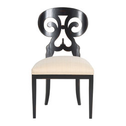 Vanguard Furniture - Vanguard Furniture Ali Side Chair V1257S-150563 - Vanguard Furniture Ali Side Chair V1257S-150563