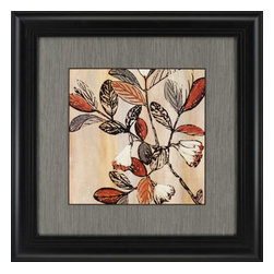 Paragon - Nature's Graphic I - Framed Art - Each product is custom made upon order so there might be small variations from the picture displayed. No two pieces are exactly alike.