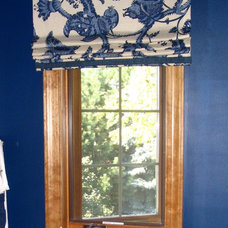 Tropical Window Treatments by Michael John at Collaborative