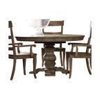 Hooker Furniture - Hooker Furniture Sorella Round/Oval Pedestal Dining Table with Leaf - Hooker Furniture - Dining Tables - 510775203