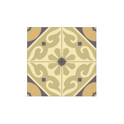 """""""Torino"""" 8x8 Encaustic Cement Tiles - """"Make every space Count"""" with Rustico Tile and Stone, wholesale flooring, global shipping."""