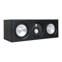 Speakercraft - Dual 6-1/2'' 140W Aim&Trade; Center-Channel Speaker, Individual, Black - Audio-Direct.com has been serving customers since 2001 with world class name brand electronics.