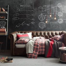Washed Classic Plaid Bedding Collection