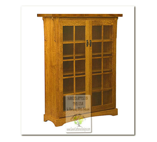 Mission Bookcases - 100% HANDCRAFTED IN THE UNITED STATES BY OUR MASTER-CRAFTSMAN AND GUARANTEED FOR LIFE!