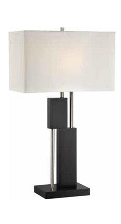 Lite Source - Lite Source Taffy Contemporary / Modern Table Lamp XSL-03422 - Lite Source Taffy Contemporary / Modern Table Lamp XSL-03422