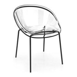 Calligaris - Calligaris | Quick Ship: Bloom Metal Base Chair - Design by Archirivolto.