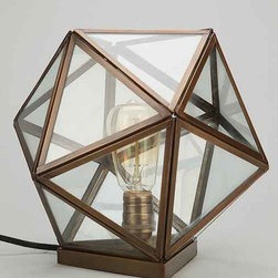 Magical Thinking Geo Table Lamp - Cute, funky and functional, this adorable geometric could light up any little corner or tabletop.